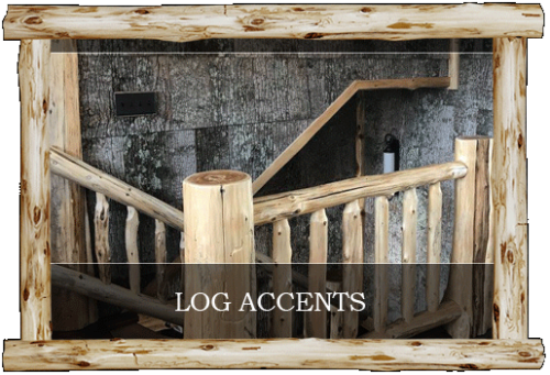 Log Accents & Log Railings - Central Mn Log Work