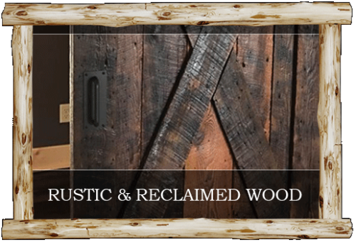 Rustic Wood, Reclaimed Wood & Millwork in Central MN